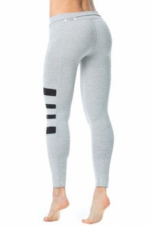 ReTrack 7/8 LEGGINGS - Light Gray - FINAL SALE - XS/S (1 AVAILABLE)