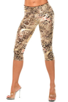 JNL Cleopatra Sport Band 3/4 Leggings - NO