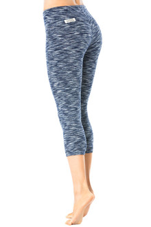 Water High Waist 3/4 Leggings
