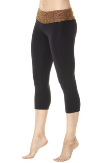 Butter Rolldown on Supplex 3/4 Leggings