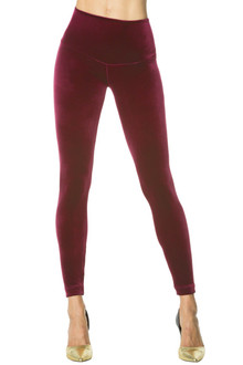 Stretch Velvet Flex Leggings