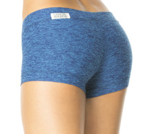 "Butter Buti Lowrise Mini Shorts - FINAL SALE - OCEAN - MEDIUM - 2.75"" INSEAM (1 AVAILABLE)"
