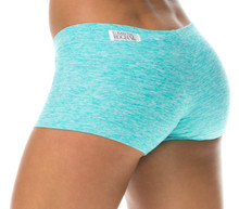 "Butter Buti Lowrise Mini Shorts - FINAL SALE - MINT - MEDIUM - 2.5"" INSEAM"