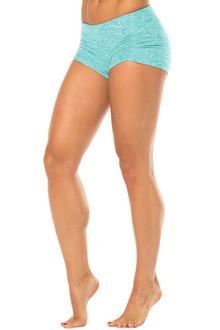 Kala Butter Gather Front Mini Band Shorts