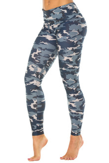High Waist Brushed Print Leggings
