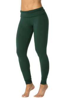ALPINE STRETCH Cotton Rolldown Leggings - FINAL SALE - XS, S, M, & L