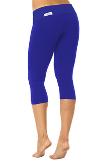 Rolldown 3/4 Leggings- Solid Color Supplex