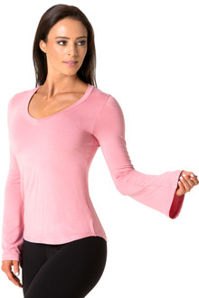 Rayon Bell Sleeves Top