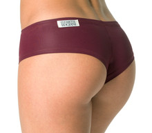 Wet Merlot Curve Shorts - Ready