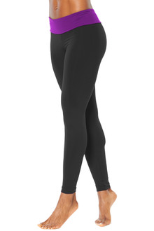 Sport Band Leggings - Contrast Supplex