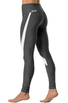 High Waist Victoria Leggings - Supplex Accent on Butter
