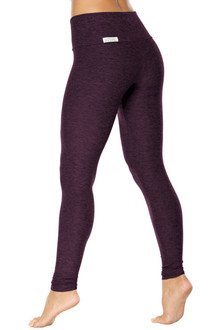 Double Weight Butter High Waist Leggings - FINAL SALE - BUTTER RAISIN - MEDIUM (2 AVAILABLE)