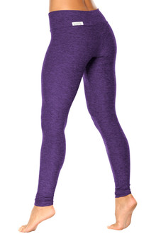 Butter Sport Band Leggings - FINAL SALE-BUTTER PURPLE- XS (2 AVAILABLE)
