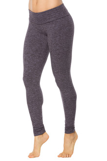 Double Weight Butter Sport Band Long Leggings-FINAL SALE-BUTTER STONE- XS (2 AVAILABLE)