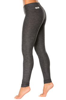 Butter Sport Band Leggings - FINAL SALE-BUTTER DARK BLACK- M (1 AVAILABLE)