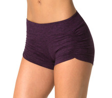 Double Weight Butter Kala Gather Front Mini Band Shorts - Custom