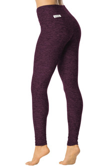 "Raisin Double Weight Butter High Waist Leggings - FINAL SALE - SMALL - 29"" INSEAM (1 AVAILABLE)"