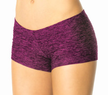 "Butter Buti Lowrise Mini Short - FINAL SALE - PLUM - SMALL - 2.75"" INSEAM (1 AVAILABLE)"