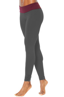 Sport Band Gather Ankle Leggings