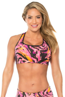 JNL - Hurricane Pink Bra - FINAL SALE - PINK - MEDIUM (1 AVAILABLE)