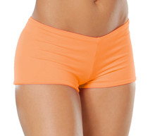 "Lowrise Double Layer Boy Shorts - FINAL SALE - APRICOT - SMALL - 1.75"" INSEAM (1 AVAILABLE)"