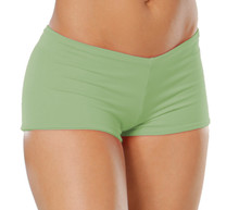 """Lowrise Double Layer Boy Shorts - FINAL SALE - GARDEN - SMALL - 1.75"""" INSEAM (1 AVAILABLE)"""