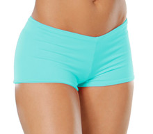 "Lowrise Double Layer Boy Shorts - FINAL SALE - ICE - SMALL - 1.75"" INSEAM (1 AVAILABLE)"