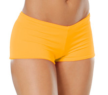 "Lowrise Double Layer Boy Shorts - FINAL SALE - GINGER - MEDIUM - 1.75"" INSEAM (1 AVAILABLE)"