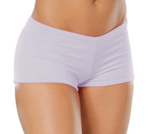 "Lowrise Double Layer Boy Shorts - FINAL SALE - LAVENDER - SMALL - 1.75"" INSEAM (1 AVAILABLE)"