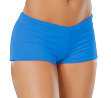 "Lowrise Double Layer Boy Shorts - FINAL SALE - MARLIN - SMALL - 1.75"" INSEAM (1 AVAILABLE)"