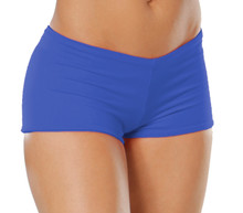 "Lowrise Double Layer Boy Shorts - FINAL SALE - ROYAL - XSMALL - 1.75"" INSEAM (1 AVAILABLE)"