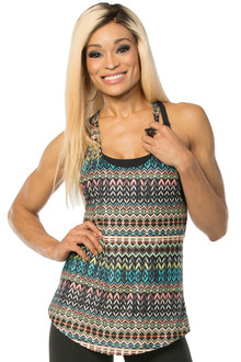 Alicia Marie - Native Tank - FINAL SALE - SMALL (1 AVAILABLE)