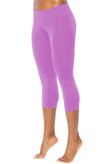 Sport Band 3/4 Leggings- LILAC- XSMALL (1 AVAILABLE)