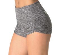 """High Waist Kala Butter Gather Front Shorts -SALE- BUTTER BLACK-MEDIUM- INSEAM 1.75"""" (1 AVAILABLE)"""