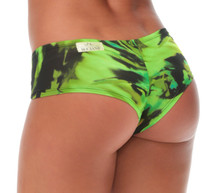 JNL - Hurricane Green King Shorts  - FINAL SALE