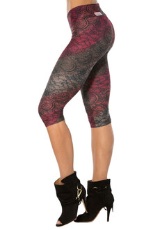 Alicia Marie - Venice 3/4 Leggings - FINAL SALE - SMALL