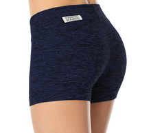 "Butter Band Shorts - FINAL SALE - DENIM - X-SMALL - 2"" INSEAM (1 AVAILABLE)"