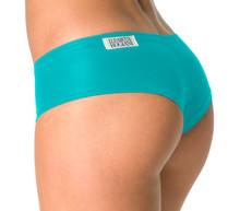 Curve Shorts - FINAL SALE - TEAL - LARGE (1 AVAILABLE)