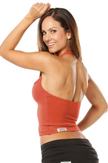 "Greco Top - FINAL SALE - RUST - SMALL - 10"" SIDES (1 AVAILABLE)"
