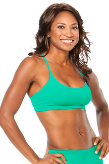 Lotus Bra -  FINAL SALE - JOY GREEN - MEDIUM (1 AVAILABLE)