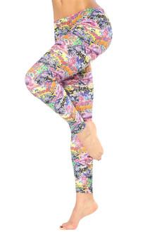 Alicia Marie - Graffiti Leggings