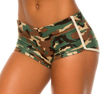 Camo Retro Shorts - custom