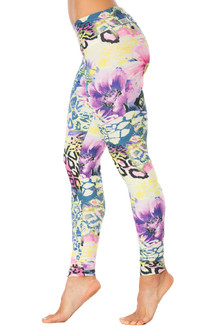 Flower Sport Band Leggings