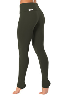 "High Waist Leggings - FINAL SALE - BLACK - X-SMALL - 28"" INSEAM (1 AVAILABLE)"
