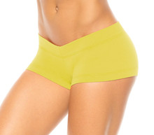 WEEKLY SPECIAL! Lowrise Mini Shorts - Citrus