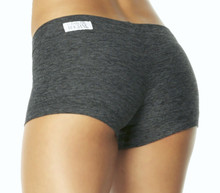 "Weekly Special! Butter Buti Lowrise Mini Shorts - FINAL SALE - DARK BLACK - 2.75"" INSEAM"