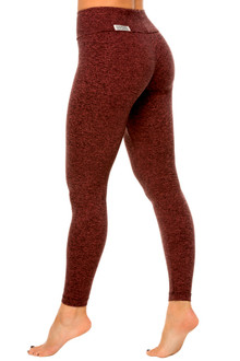 Rose Gold Double Weight Butter High Waist Leggings