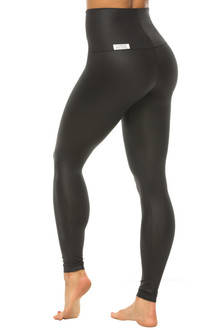 Extended High Waist Leggings - Wet