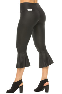 Lolita Liquid Flare Cropped Leggings