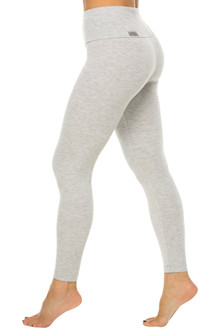High Waist Leggings - Stretch Cotton